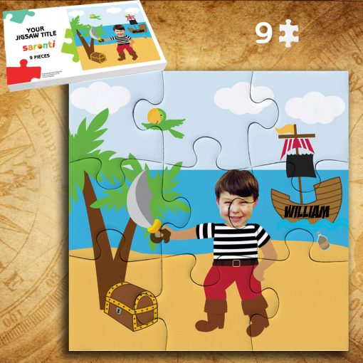 Pirate 9 piece Jigsaw puzzle