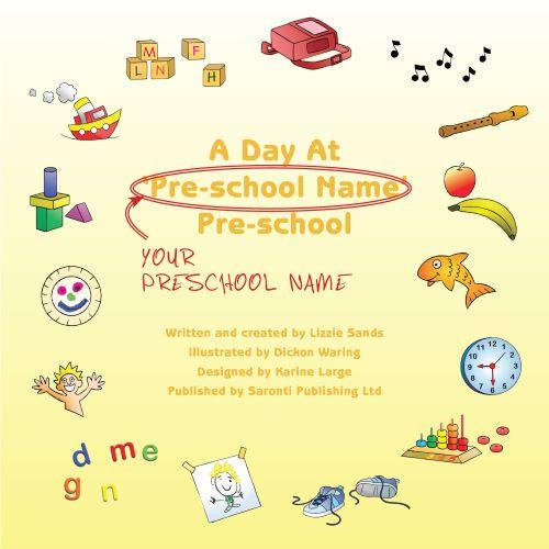 inside cover of preschool book