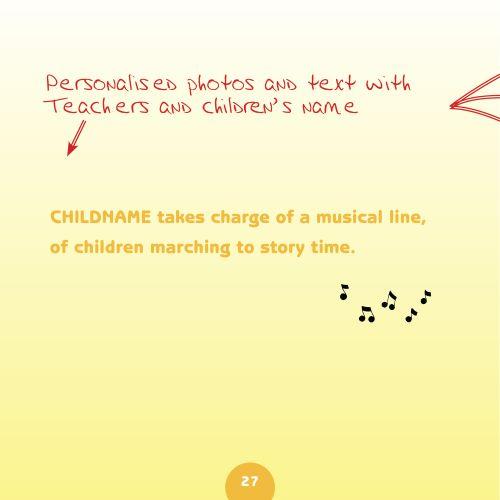 preschool book text page