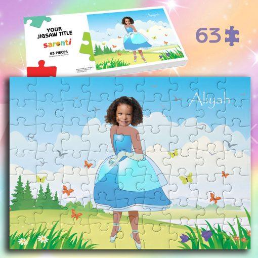 Princecss 63 piece Jigsaw puzzle