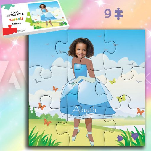 Princess 9 piece Jigsaw puzzle