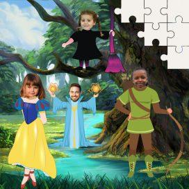 Magical & Fantasy Personalised Jigsaws