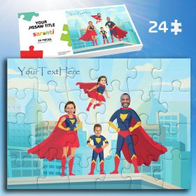 Superheroes 24 piece Family Jigsaw