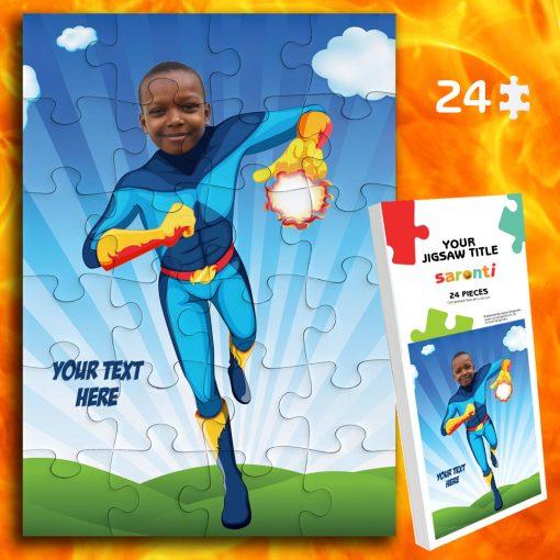 24 piece FireBoy jigsaw puzzle