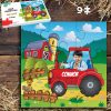Tractor 9 piece Jigsaw puzzle