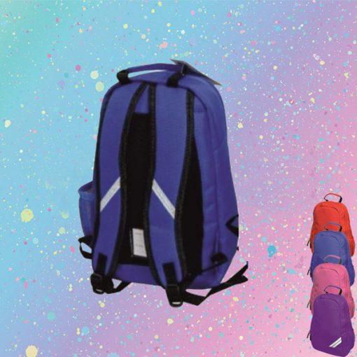 back of backpack
