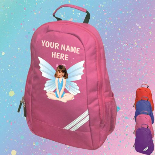 pink fairy backpack
