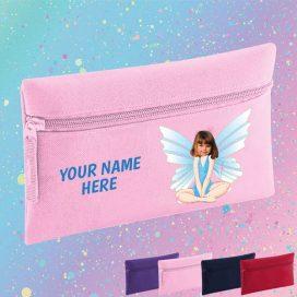 pink fairy pencil case