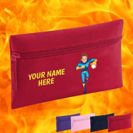 red fireboy pencil case