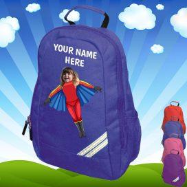 blue flygirl backpack