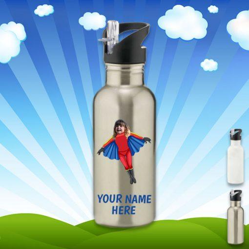 sliver flygirl water bottle