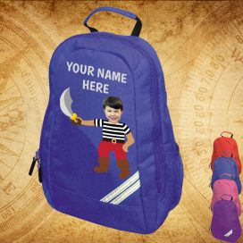 blue pirate backpack