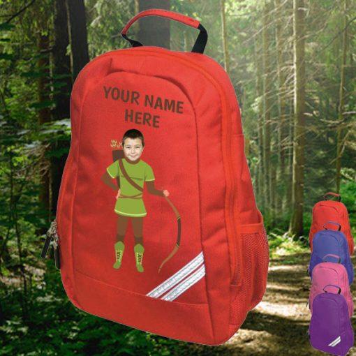 red robin hood backpack