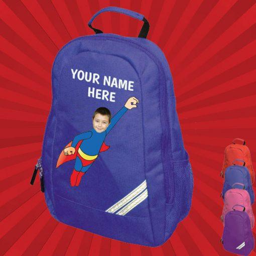 Blue wonderkid backpack
