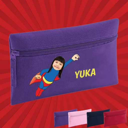 purple pencil case with wonderkid image