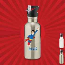 Personalised Aluminium Water Bottles