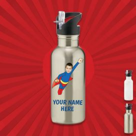 silver wonderkid water bottle