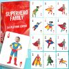 Playing cards Superheroes Family