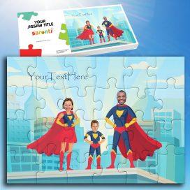 Superhero Family 1 Child
