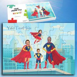 Superhero Family 2 Children