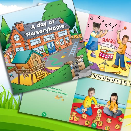 day at nursery book