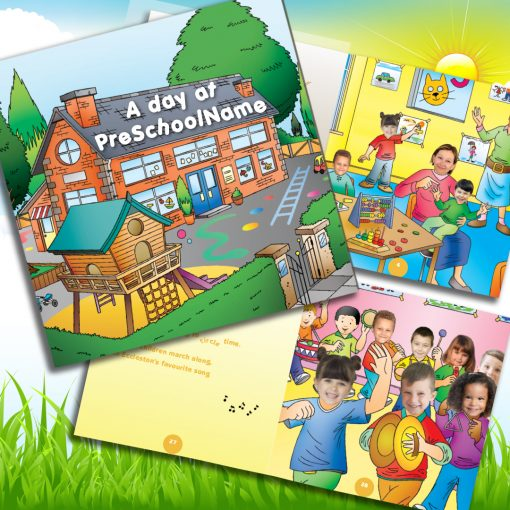 Personalised Pre-school Memory Book with Names & Faces