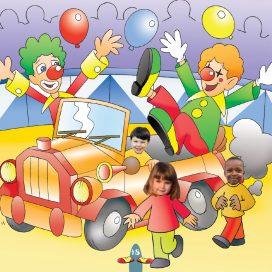 preschool circus outing book