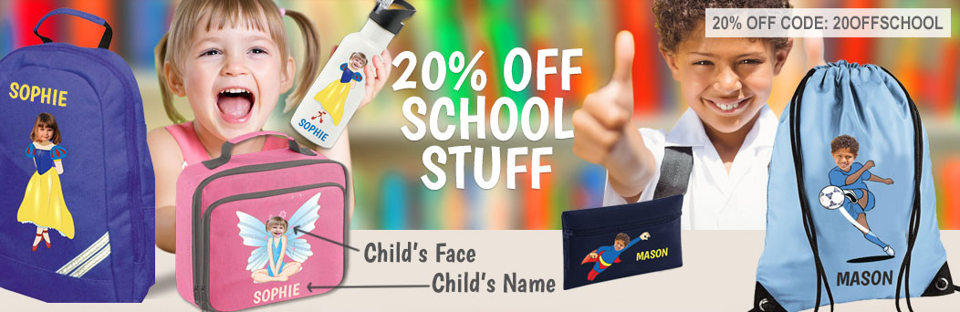 saronti personalised books games school items Back to school