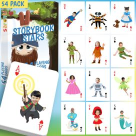 storybook stars 54 pack card game