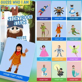 storybook stars guess who i am card game