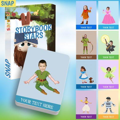 storybook stars snap card game