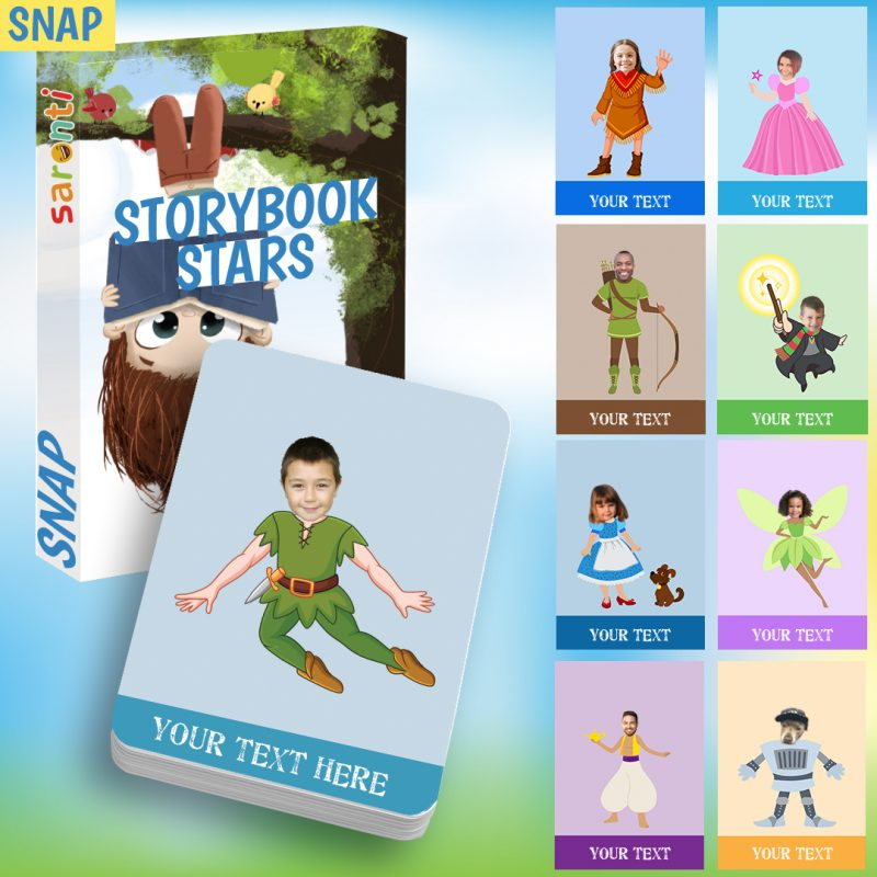 storybook stars snap card game