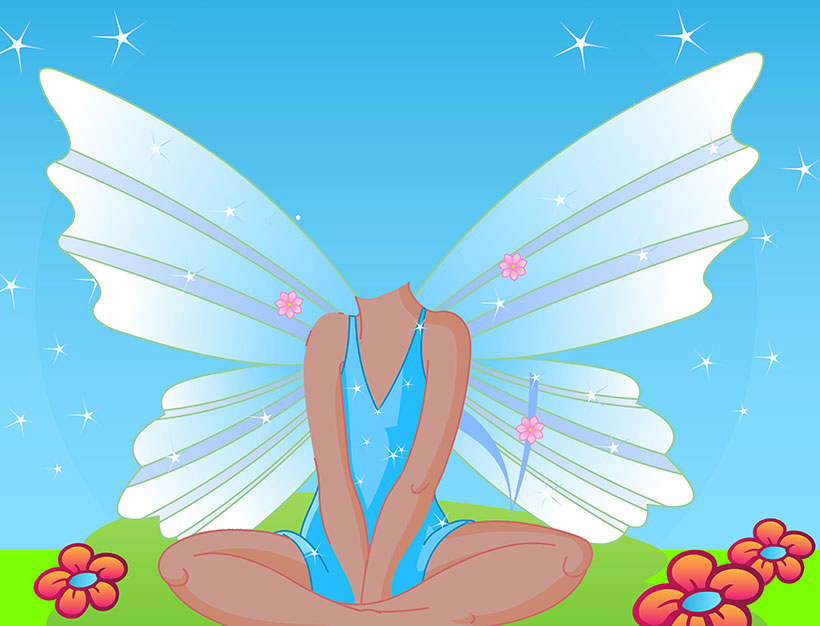 create your own personalised picture fairy