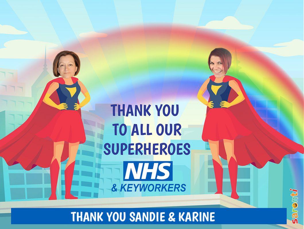 Personalised-picture-NHS_Keyworkers_Superheroes_2-females