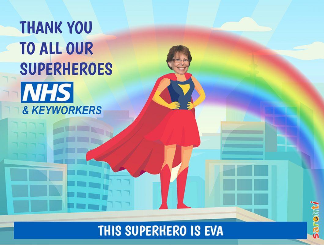 Personalised-picture-NHS_Keyworkers_Superheroes_female