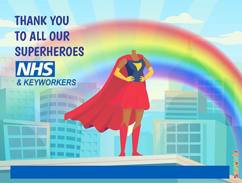 Personalised-picture-NHS_Keyworkers_Superheroes_female-D