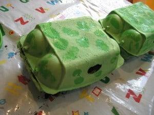 dragon egg box body paint