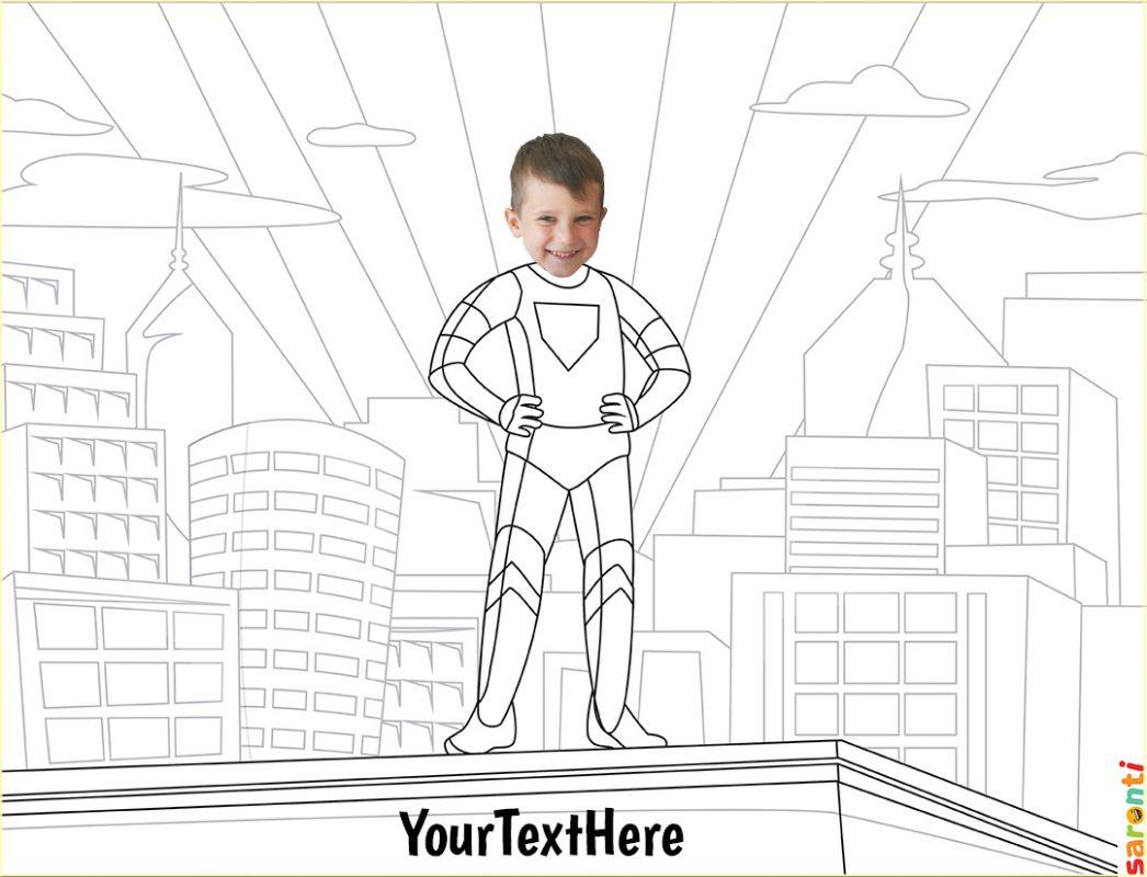 personalised-colouring-superhero-boy