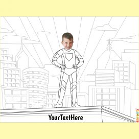 personalised-colouring-superhero-boy