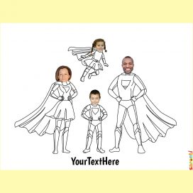 personalised-colouring-superheroes-family