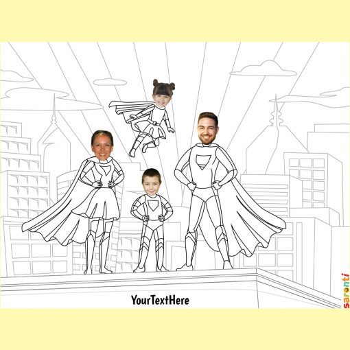 personalised-colouring-superheroes-family-harder