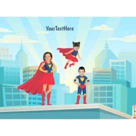 personalised-picture-family-superheroes-1mum-1boy-1girl