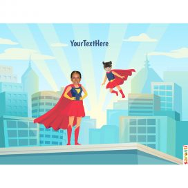 personalised-picture-family-superheroes-1mum-1girl