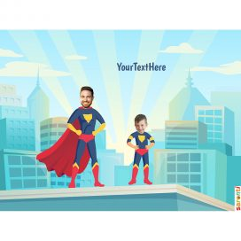 personalised-picture-family-superheroes-dad-boy