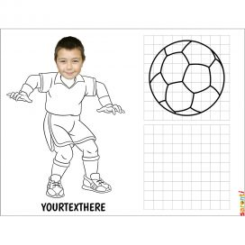 Create-your-own-personalised-copy-the-picture-foot-ball