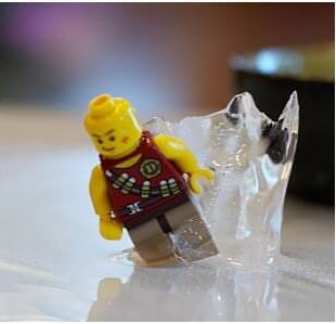 lego in ice