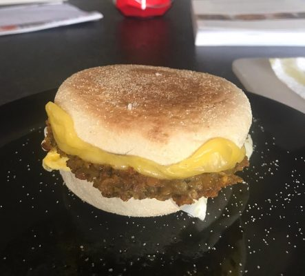 sausage egg muffin