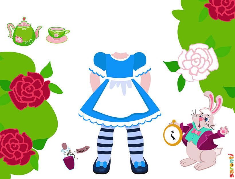 personalised-alice-in-wonderland