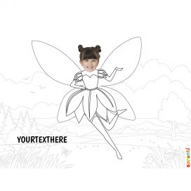 Tinkerbell-colouring