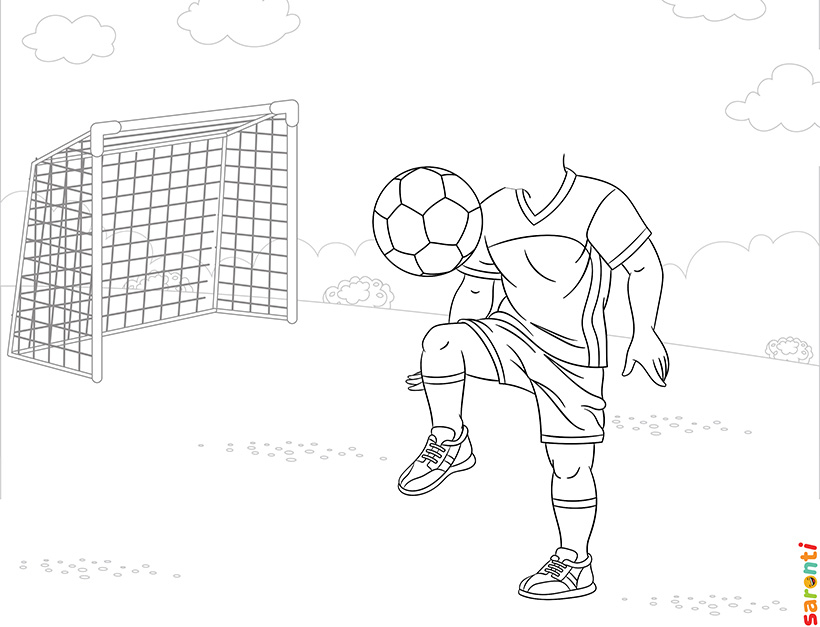 personalised-colouring-footballer